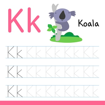 Koala dessin ligne dessin vectoriel