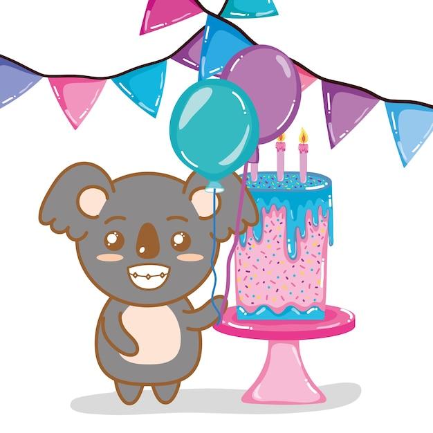 Koala joyeux anniversaire