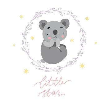 Koala petite étoile