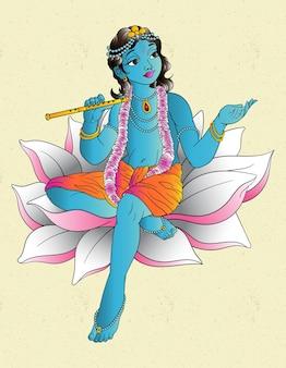 Krishna dieu indu