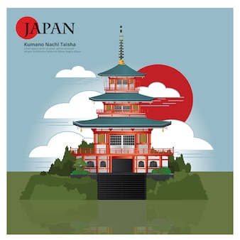 Kumano nachi taisha japon landmark