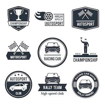Label auto sport