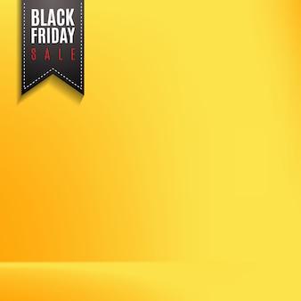 Label pour vendredi noir