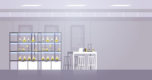 Laboratoire de recherche chimique avec différents équipements