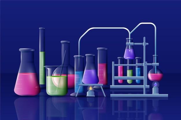 Laboratoire scientifique réaliste