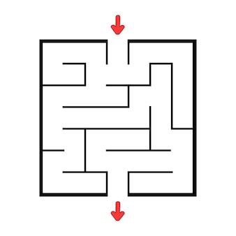Labyrinthe abstraite.