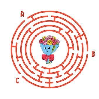Labyrinthe de cercle.