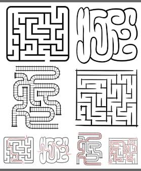 Labyrinthe de labyrinthes ou de labyrinthes