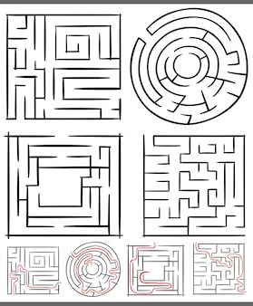 Labyrinthe de labyrinthes ou de labyrinthes