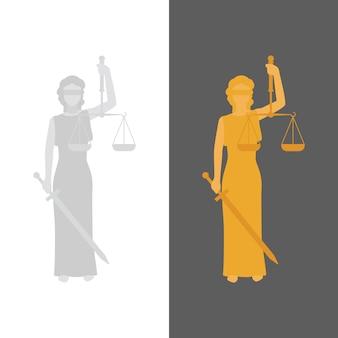 Lady justice ou justitia