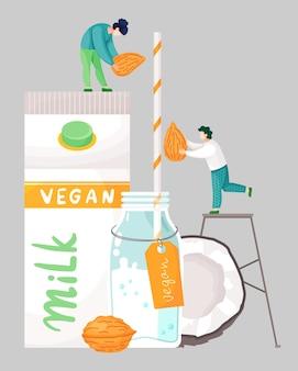 Lait de noix de coco vegan