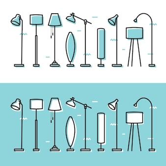 Lampadaire lampadaire