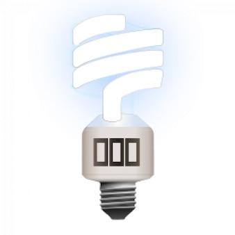 Lampe fluorescente compacte