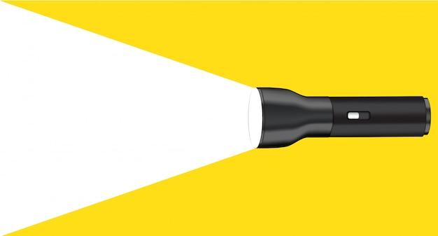 Lampe de poche 3d avec projecteur de projection