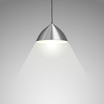 Lampe suspendue.