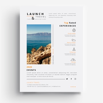 Lancement et agence de voyages saison 2020