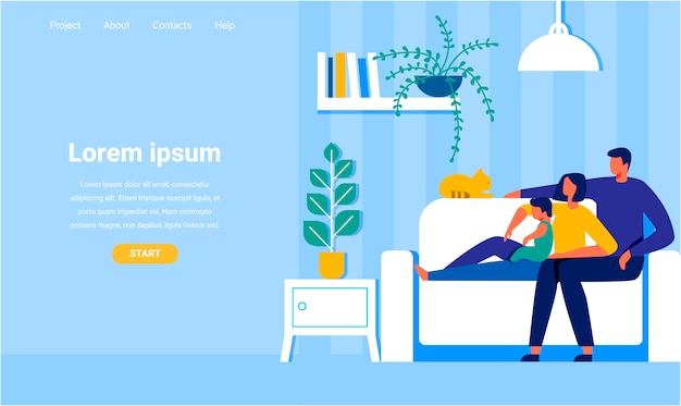 Landing page propose l'aide de technologies for people