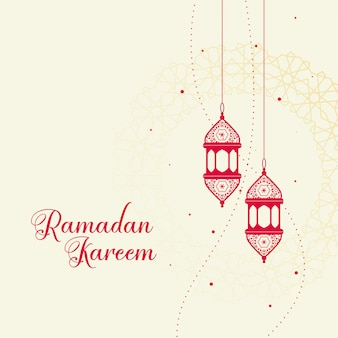Lanterne islamique décorative rouge