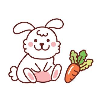Lapin à la carotte