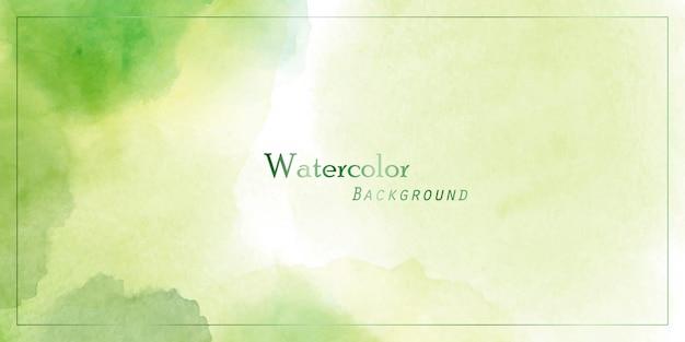 Large fond vert avec cadre rectangle