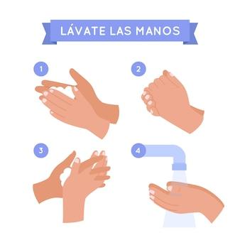 Lave t'es mains