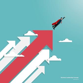 Leadership dans le concept d'entreprise