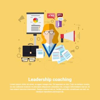 Leadership management coaching business