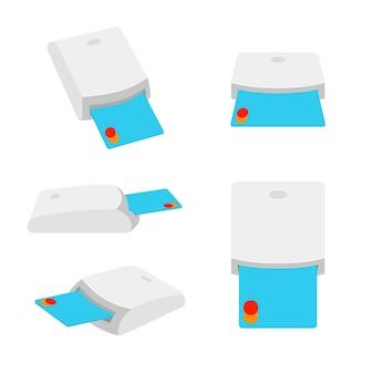 Lecteur de carte à puce. lecteur de carte à smart usb.