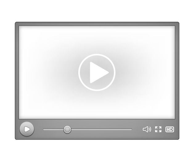 Lecteur vidéo pour le web