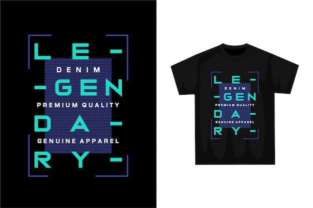 Légendaire - t-shirt graphique