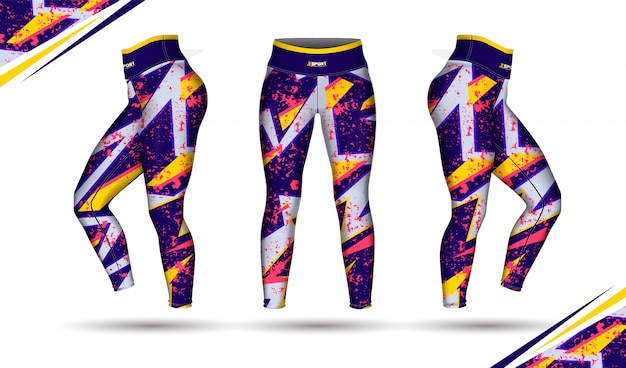 Leggings pants formation illustration de mode