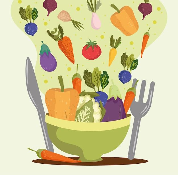Légumes frais régime
