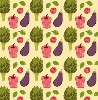 Légumes frais sains