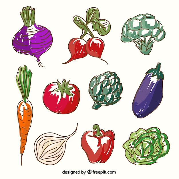 Légumes sketchy