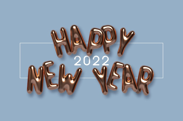 Lettrage de bonne année
