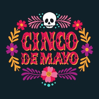 Lettrage cinco de mayo