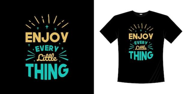 Lettrage citations t-shirt typographie faite en inscription slogan de motivation
