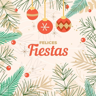 Lettrage felices fiestas