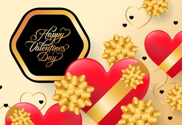 Lettrage happy valentines day