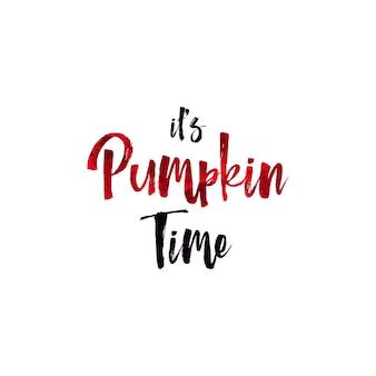 Lettrage à la main du jour d'halloween