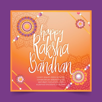 Lettrage raksha bandhan