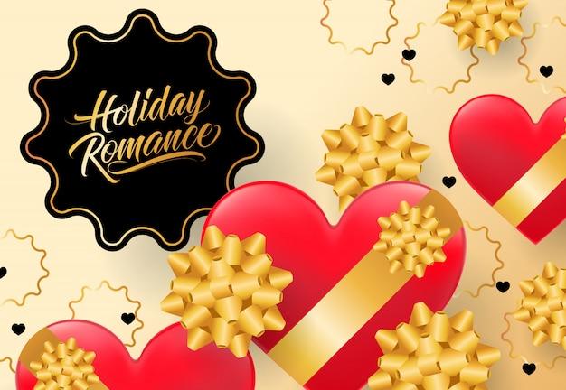 Lettrage de romance de vacances