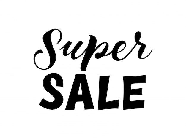 Lettrage super sale