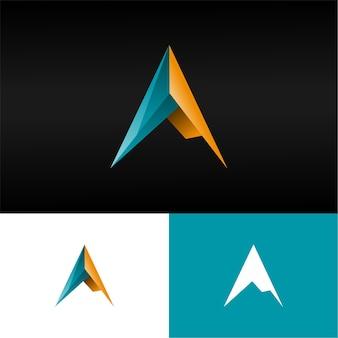 Lettre 3d un logo