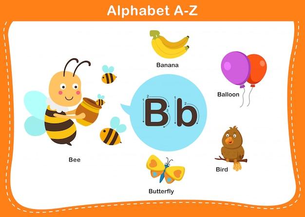 Lettre alphabet b