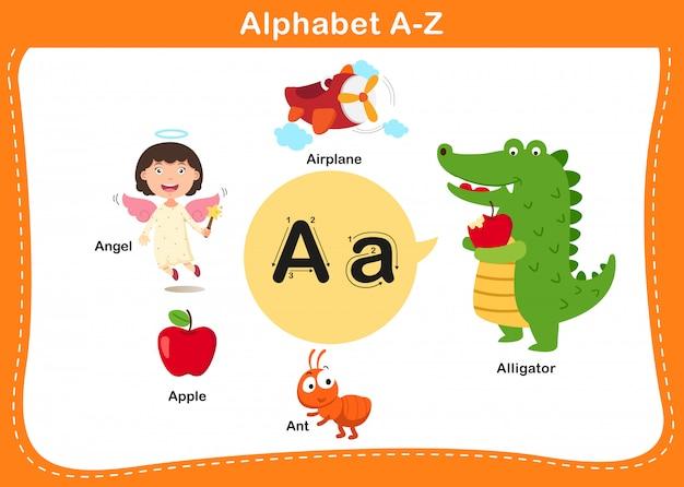 Lettre alphabet a