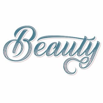 Lettre de beauté