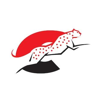 Lettre c cheetah logo