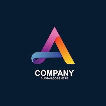Lettre une création de logo