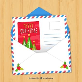 Lettre dans une enveloppe